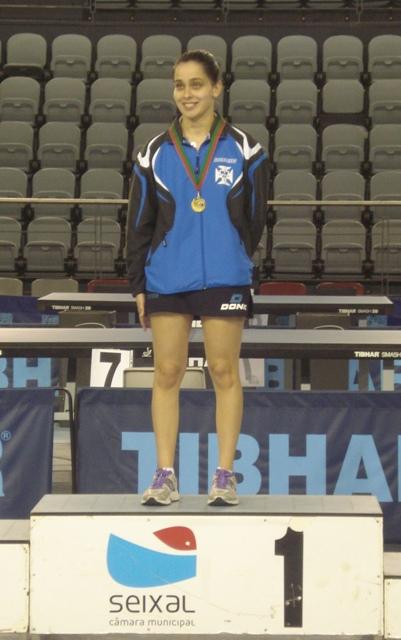 Cátia Martins conquista ouro em sub-21 femininos