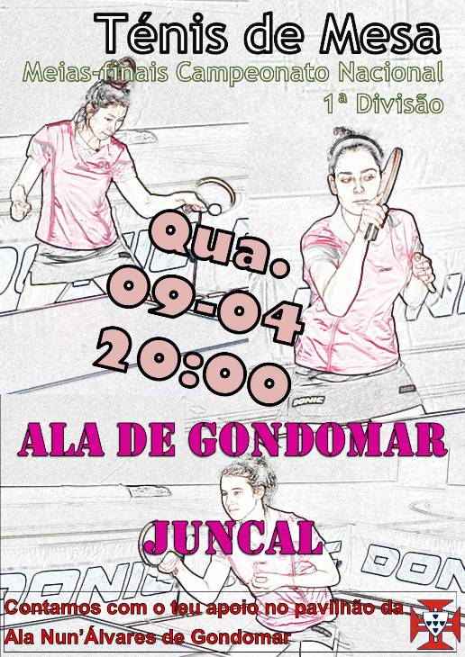 Ala Gondomar novamente contra o GDCS Juncal